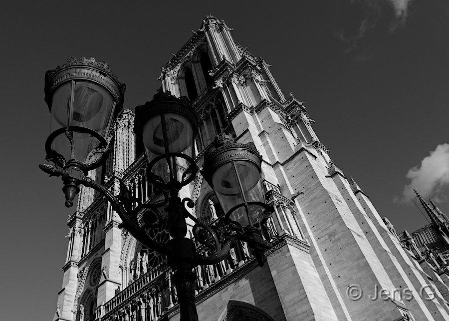 Notre Dame kirken i Paris