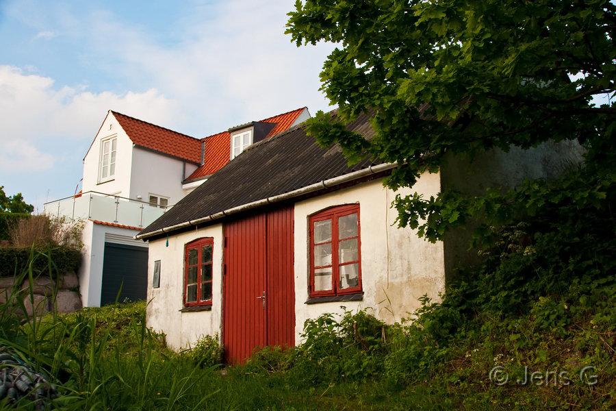 Gammelt og nyt hus