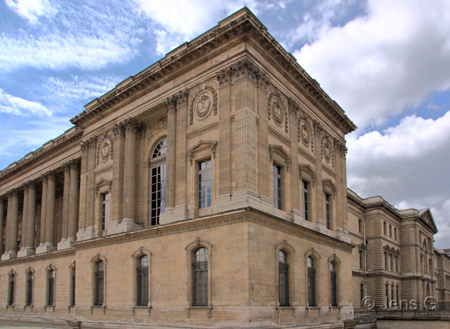 Et hjørne af Louvre