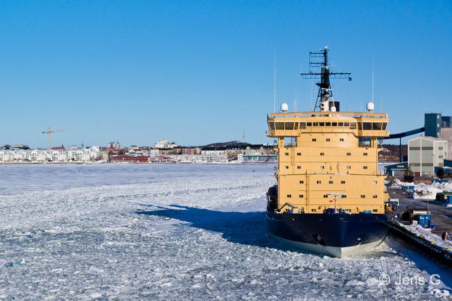 Isbryderen Frej i Luleå